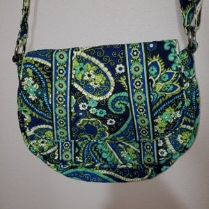 Vera Bradley Rhythm & Blues crossbody purse
